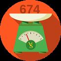 VitaScale kalkulator kalorii i wymienników icon