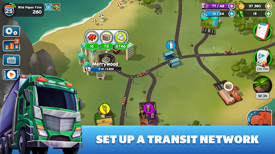 Transit King Tycoon MOD Apk 3.24 (Free Purchases) 1