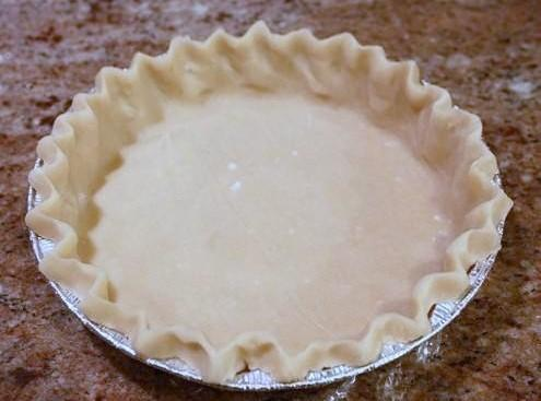 Pie Crust With Vodka (christopher Kimball) Recipe