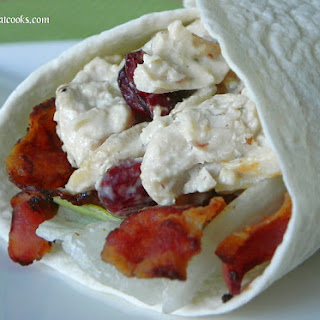 Cranberry-Apple Chicken Salad with Bacon