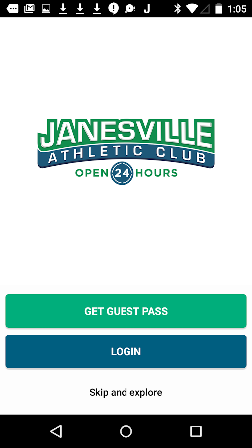 Janesville Athletic Club- screenshot