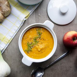 Healthy Heart Carrot Apple Fennel Soup