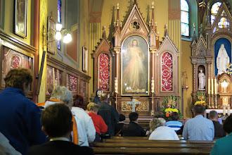 Photo: Uctenie si obrazu Božieho milosrdenstva a relikvií sv. Faustíny