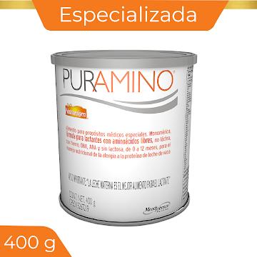 FÓRMULA INFANTIL   PURAMINO 0-12 MESES . X400G