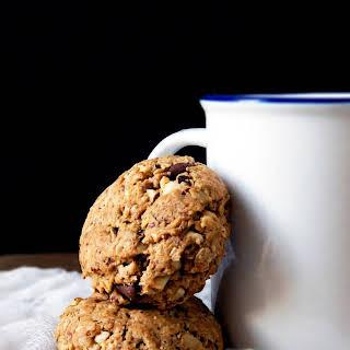 Hazelnut Oatmeal Chocolate Chip Cookies.