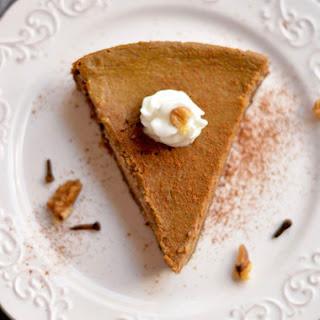 Healthy Pumpkin Pie {GF, Low Cal, Paleo}