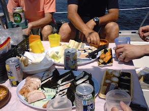 Photo: いつもの八景島でビアランチ。 ワインもチュウハイもあり□