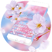 Pink Drops RainbowKey Theme