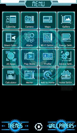 Cyber Interface Cool Theme 1.0.0 Windows u7528 2