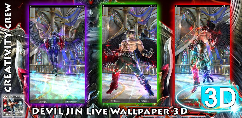 Devil Jin Live Wallpaper 3d 4 0 4 Apk Download Com Heriyatnacrew