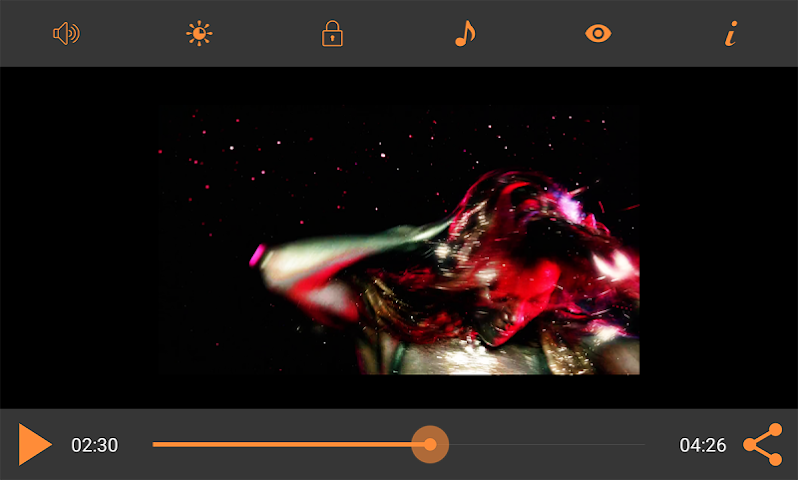 android Video Player HD : MP4/FLV/3GP Screenshot 1
