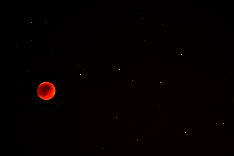 Moon eclipse by Mihaila Cristian - Landscapes Starscapes ( pwcmoonscapes )