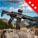 Jigsaw Weapon Puzzles: Free Smart Mosaic With Guns icon