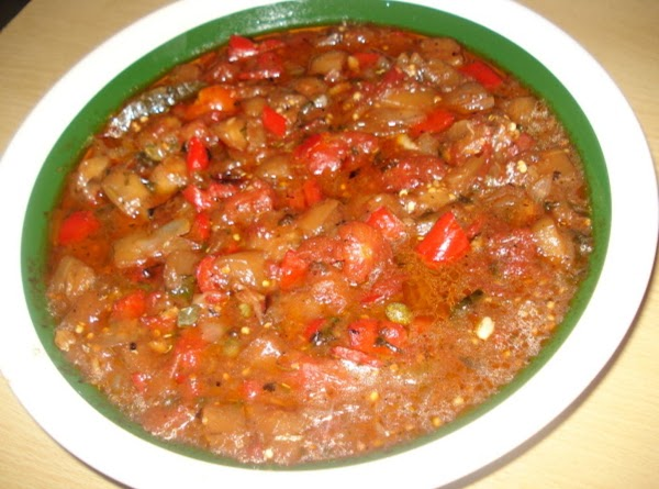 Eggplant Sauteed, Berengena Saltiada Recipe