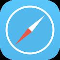 BlueSafari Browser icon