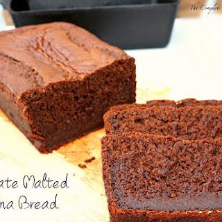 Chocolate Malted Banana Bread Recipe