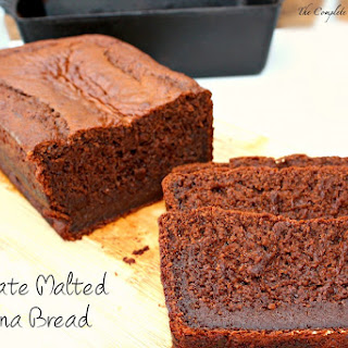 Chocolate Malted Banana Bread.