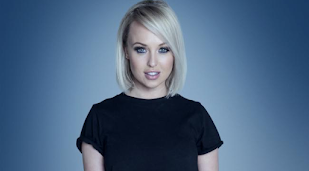 Jorgie Porter's nude Celebrity Haunted Mansion fear
