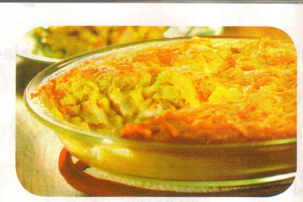 Heat oven to 400 degrees. Stir soup, corn, and turkey in a 9-inch pie...