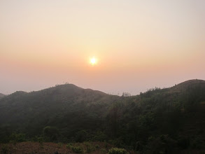 Photo: Sun set