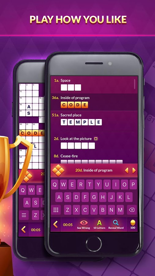 crossword champ fun word puzzle games play online android apps on google play. Black Bedroom Furniture Sets. Home Design Ideas