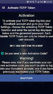 DocuBank Token - náhled
