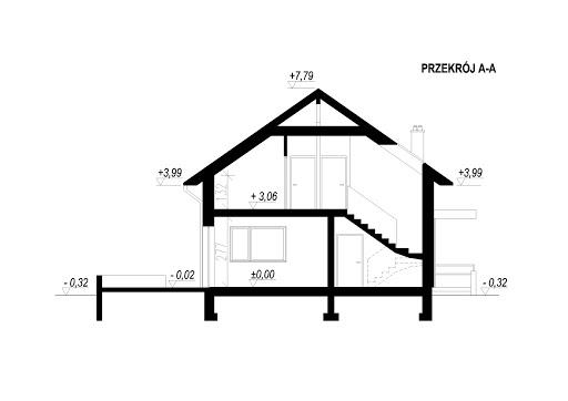 LIM House 04 - Przekrój