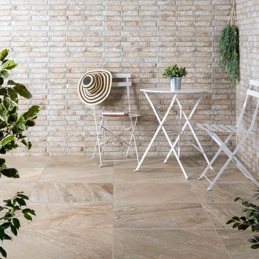 Beige Brick Exterior Wall Tiles