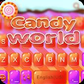 Candy World for Kika Keyboard