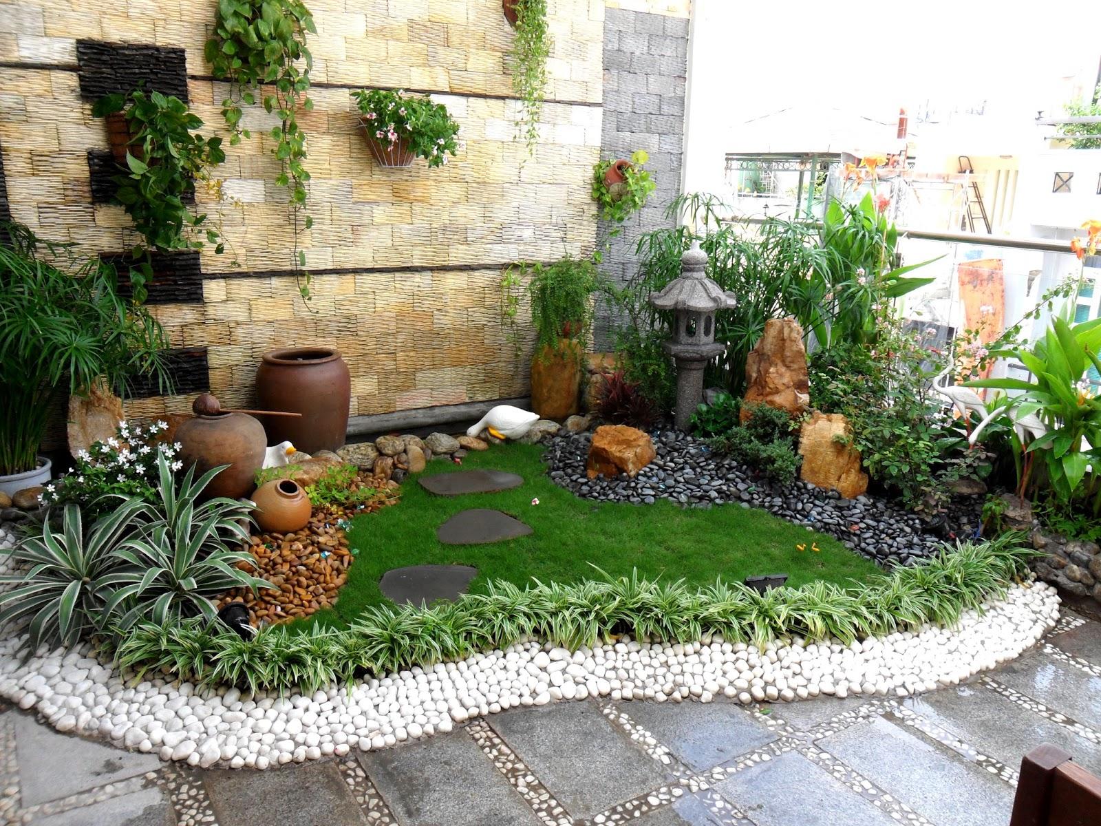 Trang trí sân vườn cần lựa chọn vật dụng phù hợp theo phong cách thiết kế