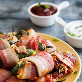 Breakfast Jalapeno Poppers.