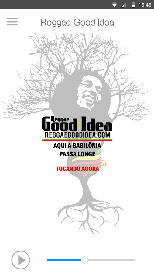 Rádio Reggae A Good Idea- screenshot
