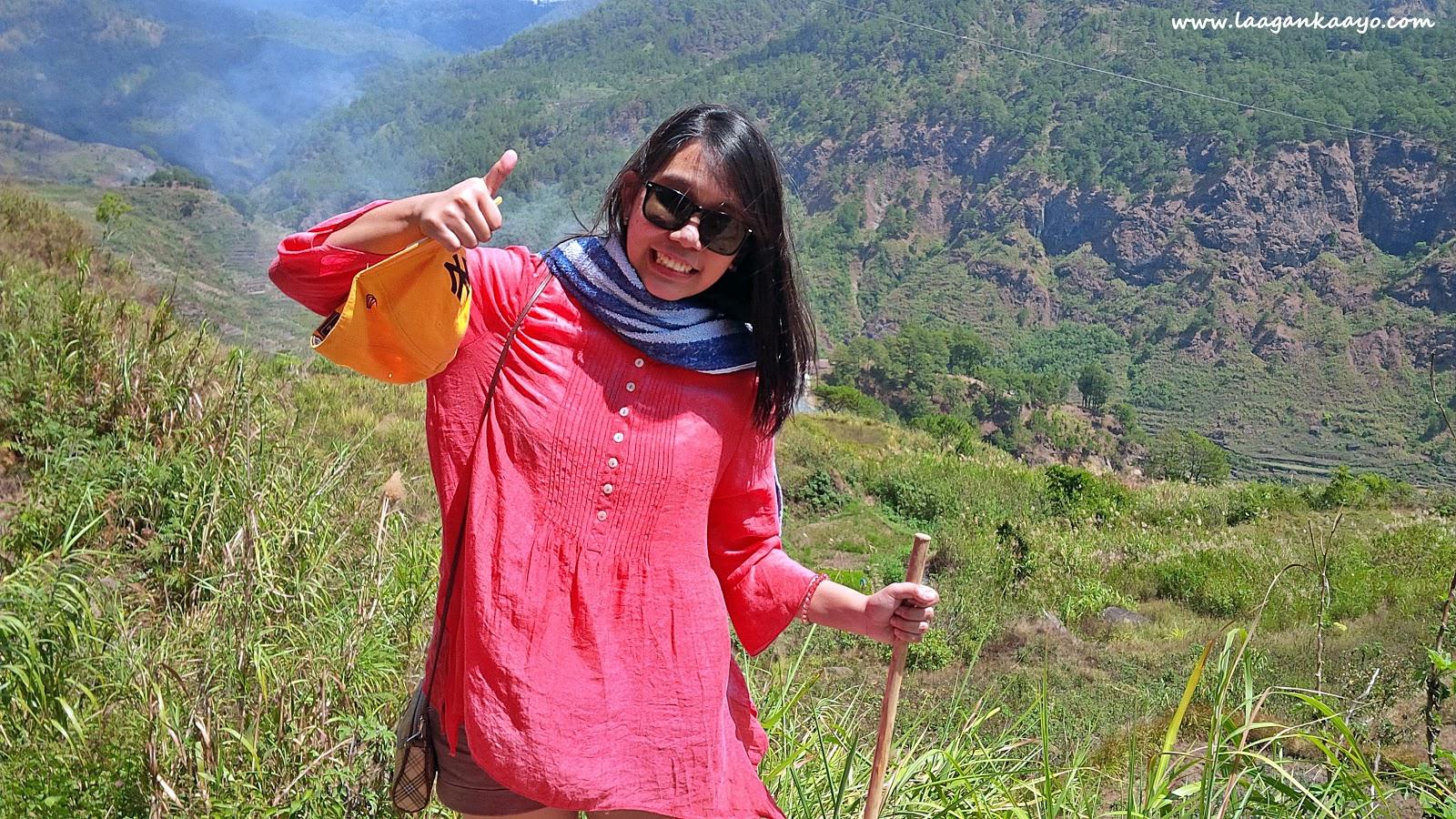 Laagan Kaayo in Bomod-ok Falls, Sagada