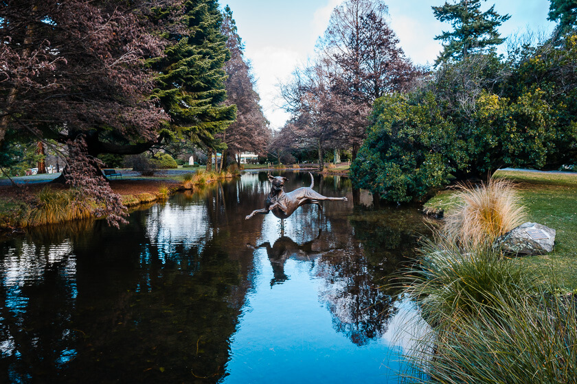 Queenstown Gardens.