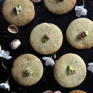 Pistachio Cookies.