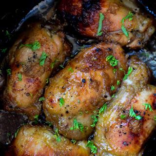 Crock Pot Garlic Brown Sugar Chicken!.