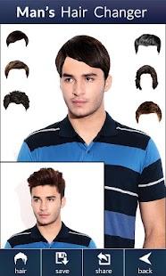 Man\'s Hair Changer : HairStyle - AppRecs
