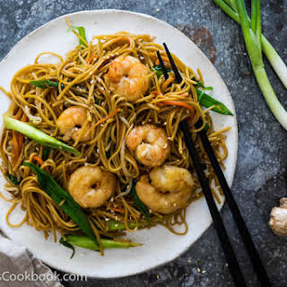 Shrimp Chow Mein Recipes.