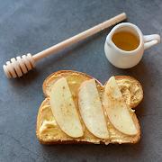 Apple & Honey Toast