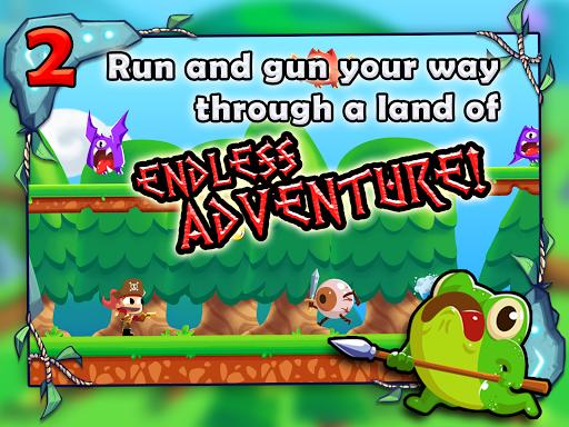 Adventure Land - Wacky Rogue Runner Free Game screenshot 9