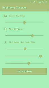 Brightness Manager screenshot