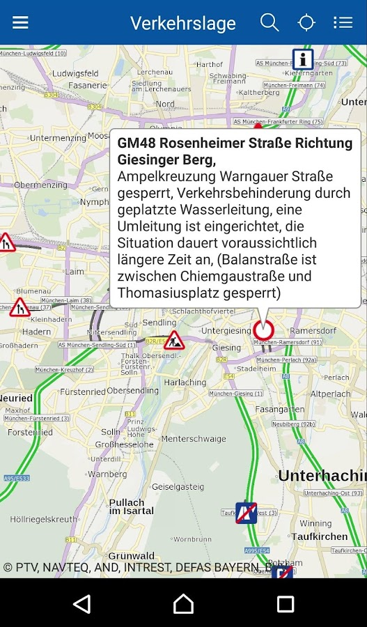 BayernInfo Maps- screenshot