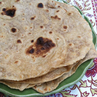Homemade Whole Wheat Tortillas.