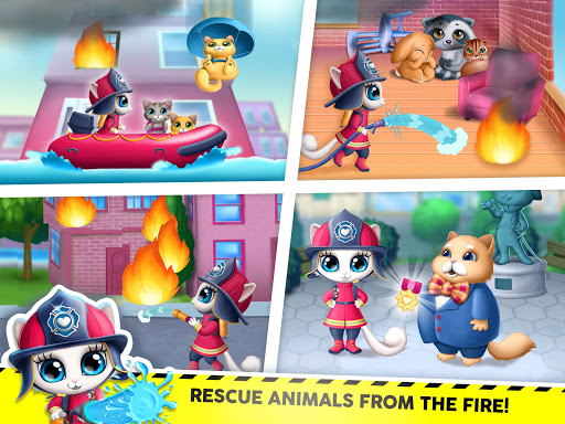 Kitty Meow Meow City Heroes - Cats to the Rescue! 2.0.51 screenshots 11