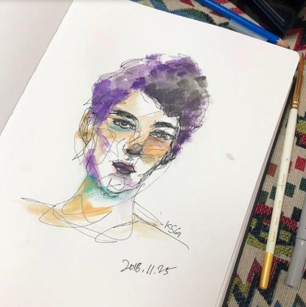 seulgi art contour 1