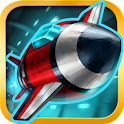 Tunnel Trouble 3D - Space Jet Game icon