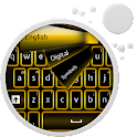 GO Keyboard Oro de neón icon
