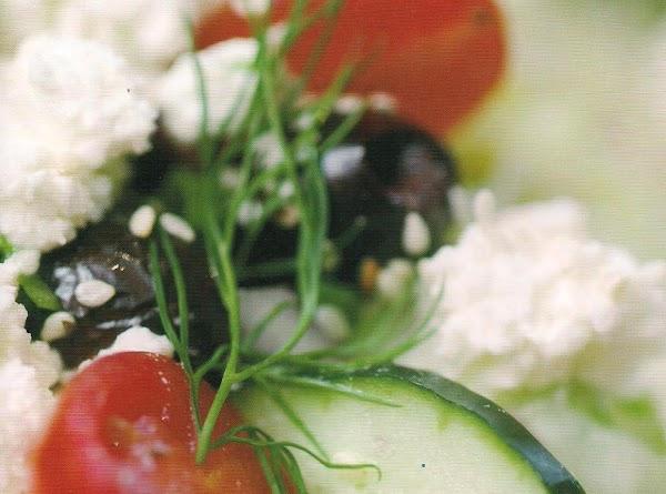 Farm  Fresh Greek Wedge Recipe