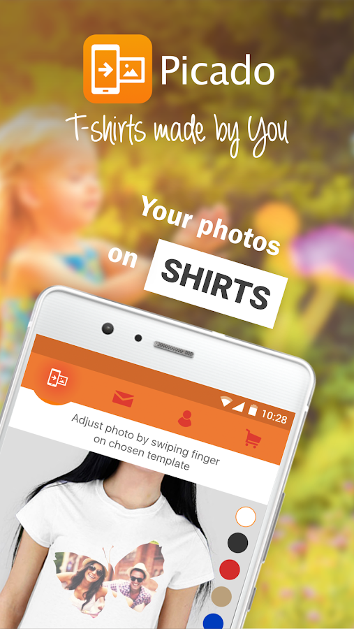 Picado - T-shirts made by You- screenshot