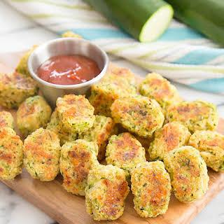Parmesan Zucchini Tots.